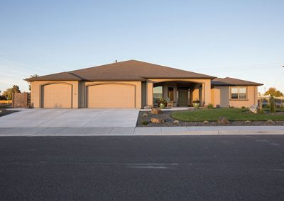 Kennewick Residential Stucco Home